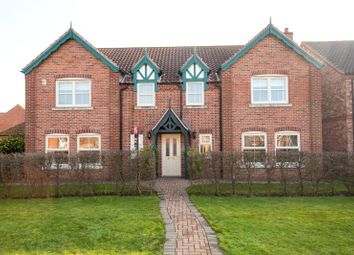 Thumbnail 5 bed detached house for sale in Bridge Farm, Pollington, Goole