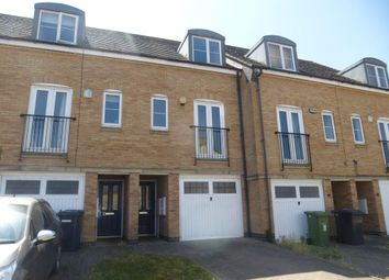Thumbnail 3 bed terraced house for sale in Beaumont Way, Hampton Hargate, Peterborough