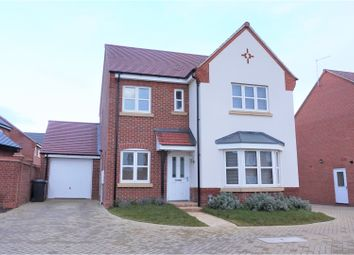 Thumbnail 4 bedroom detached house for sale in Mackworth Avenue, Derby