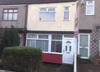Thumbnail 2 bedroom terraced house to rent in Kirkdale Avenue, Coventry