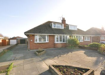 Thumbnail 3 bed semi-detached bungalow for sale in Folkestone Road, St Annes, Lytham St Annes, Lancashire