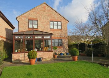 Thumbnail 4 bed detached house for sale in Cross Farm Road, Draycott, Cheddar