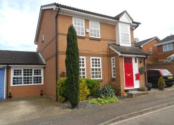 Thumbnail 3 bed detached house for sale in Lichfield Close, Kempston, Bedford, Bedfordshire