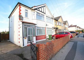 Thumbnail 3 bedroom semi-detached house to rent in Upminster Road South, Rainham