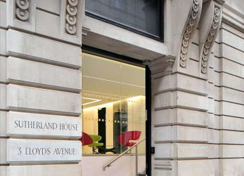 Thumbnail Serviced office to let in 3 Lloyd's Avenue, London