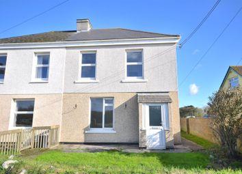 Thumbnail 3 bed semi-detached house for sale in Kuggar, Ruan Minor, Helston