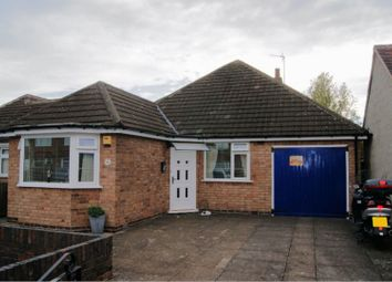 Thumbnail 2 bed detached bungalow for sale in June Avenue, Leicester