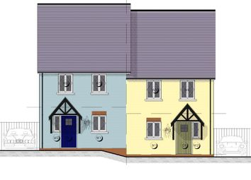 Thumbnail 4 bedroom end terrace house for sale in 4 Maes Yr Orsaf (The Cilgerran), Plot 4, Plot 4 Station Road, Narberth