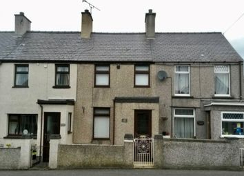 Thumbnail 3 bedroom terraced house to rent in Station Road, Llanrug, Caernarfon