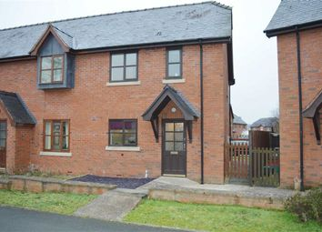 Thumbnail 3 bed end terrace house to rent in 8, Parc Hafod, Tregynon, Newtown, Powys