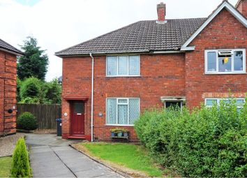 Thumbnail 3 bed end terrace house for sale in Cooksey Lane, Kingstanding, Birmingham