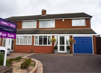 Thumbnail 3 bed semi-detached house for sale in Hamelin Street, Cannock