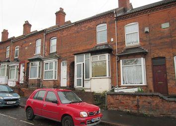 Thumbnail 3 bedroom terraced house to rent in Warwick Road, Tyseley, Birmingham