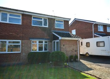 Thumbnail 3 bedroom semi-detached house for sale in Meon Grove, Perton, Wolverhampton