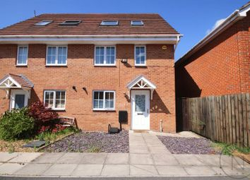 Thumbnail 3 bed semi-detached house for sale in Moorfield Close, Darlington