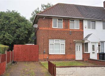 Thumbnail 2 bedroom end terrace house for sale in Heynesfield Road, Kitts Green, Birmingham