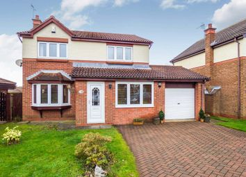 Thumbnail 4 bed detached house for sale in Hilton Drive, Peterlee
