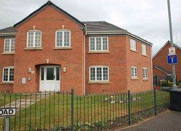 Thumbnail 2 bed flat to rent in Glover Road, Castle Donington, Derby