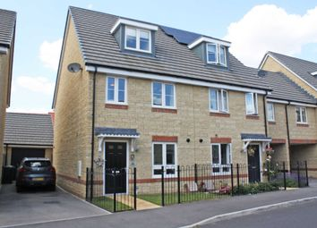 Thumbnail 3 bed semi-detached house for sale in Blackthorn Road, Didcot