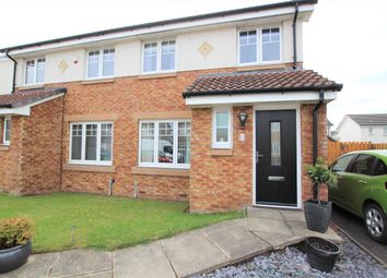 Thumbnail 3 bed semi-detached house for sale in Grainger Way, Motherwell