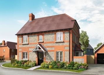 Thumbnail 3 bed detached house for sale in School Lane, Broughton, Hampshire