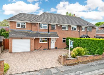 Thumbnail 4 bed semi-detached house for sale in Cobbs Lane, Appleton, Warrington, Cheshire