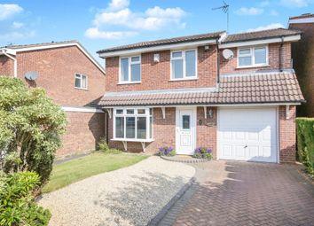 Thumbnail 4 bed detached house for sale in Levington Close, Perton, Wolverhampton