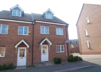 Thumbnail 3 bedroom semi-detached house to rent in Farnborough Avenue, Bilton, Rugby