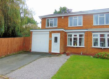 Thumbnail 3 bedroom semi-detached house for sale in Swansbrook Gardens, Kings Norton, Birmingham