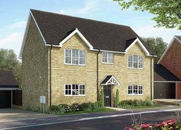 "Thumbnail 4 bed detached house for sale in ""The Lenham"" at Bury Water Lane, Newport, Saffron Walden"