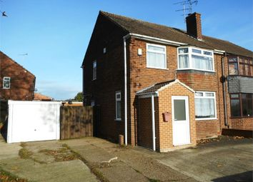 Thumbnail 3 bedroom semi-detached house for sale in Thievesdale Lane, Worksop, Nottinghamshire