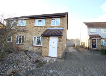 Thumbnail 3 bed semi-detached house for sale in Riversdale, Northfleet, Gravesend