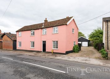 Thumbnail 5 bedroom detached house for sale in High Street, Hopton, Diss