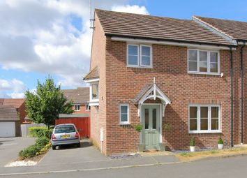 Thumbnail 3 bed semi-detached house for sale in Boreway Close, East Anton, Andover