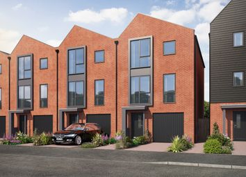 Thumbnail 3 bedroom town house for sale in Manor Park Way, Derby