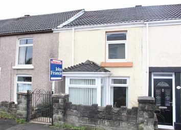Thumbnail 2 bedroom terraced house for sale in Swansea Road, Waunarlwydd, Swansea