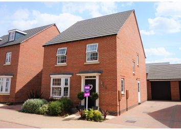 Thumbnail 4 bed detached house for sale in Tamworth Close, Grantham