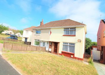 Thumbnail 2 bed semi-detached house for sale in Rectory Avenue, Hakin, Milford Haven, Pembrokeshire.