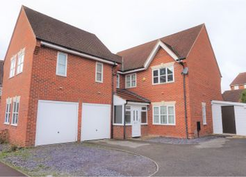 Thumbnail 5 bed detached house for sale in Westcroft, Milton Keynes