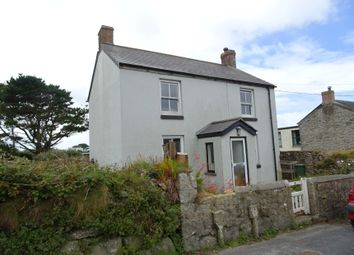 Thumbnail 3 bed detached house for sale in 9 Church Street, Pendeen, Penzance, Cornwall