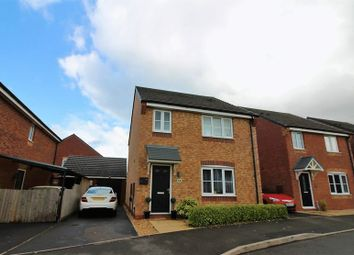 Thumbnail 4 bed detached house for sale in Rowhurst Crescent, Talke, Stoke-On-Trent