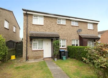 Thumbnail 1 bed terraced house to rent in Hazelbank Road, Chertsey, Surrey