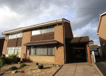 Thumbnail 3 bed semi-detached house for sale in Langland Drive, Blurton