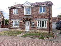 Thumbnail 4 bedroom detached house to rent in Isis Court, Pilots Way, Hull