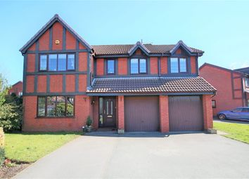 Thumbnail 4 bed detached house for sale in Hanwell Close, Leigh, Lancashire