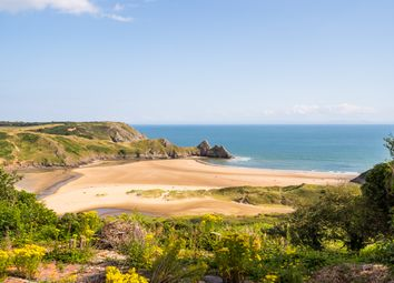 Thumbnail Land for sale in Northills Lane, Three Cliffs, Gower