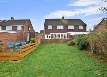 Thumbnail 3 bedroom semi-detached house for sale in Elm Walk, Greenacres, Aylesford, Kent