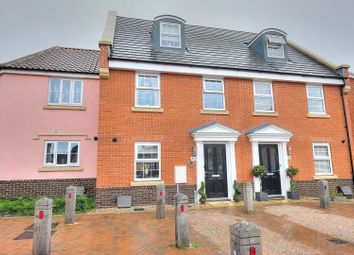 Thumbnail 3 bed terraced house for sale in Tortoiseshell Drive, Attleborough
