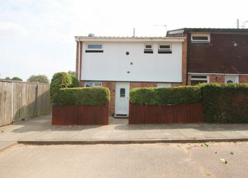 Thumbnail 2 bed end terrace house for sale in Mcvicker Close, Leicester