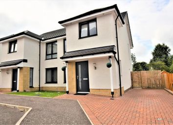 Thumbnail 3 bed semi-detached house for sale in Cypress Road, Motherwell